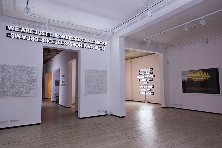 Enders Gasgrill Johor : A storyteller in istanbul exhibition by robert montgomery at