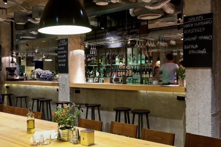 AOLI Cantine Bar Caf Deli by AD Retail Store Design Warsaw