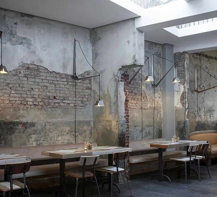 Bakkerswinkel café by piet hein eek rotterdam
