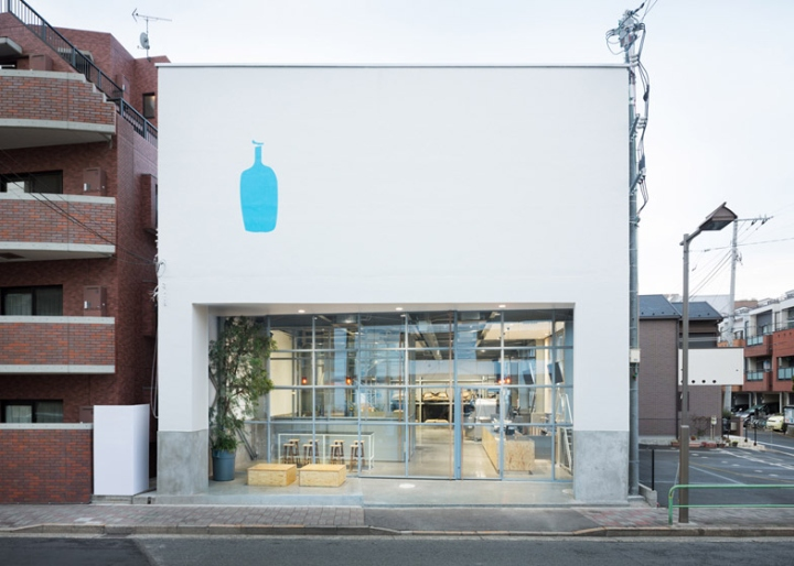 187 Blue Bottle Coffee Kiyosumi Shirakawa Roastery Amp Caf 233 By Schemata Architects