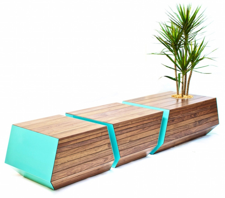 Boxcar Bench By Revolution Design House Retail Design Blog
