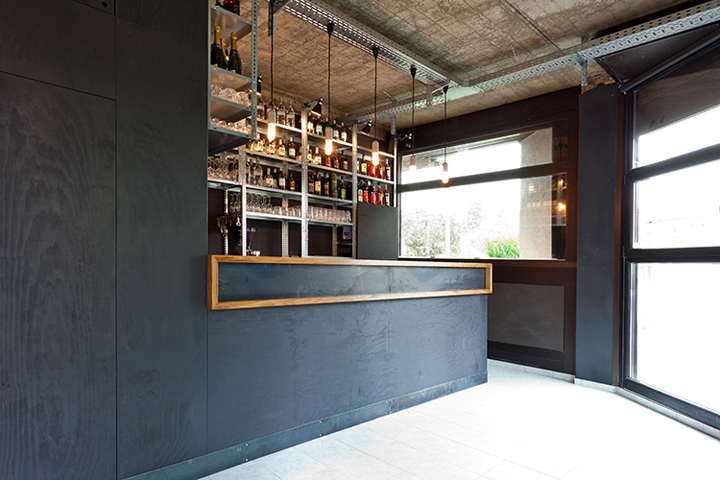 chez bar by why the friday darmstadt germany retail design blog. Black Bedroom Furniture Sets. Home Design Ideas