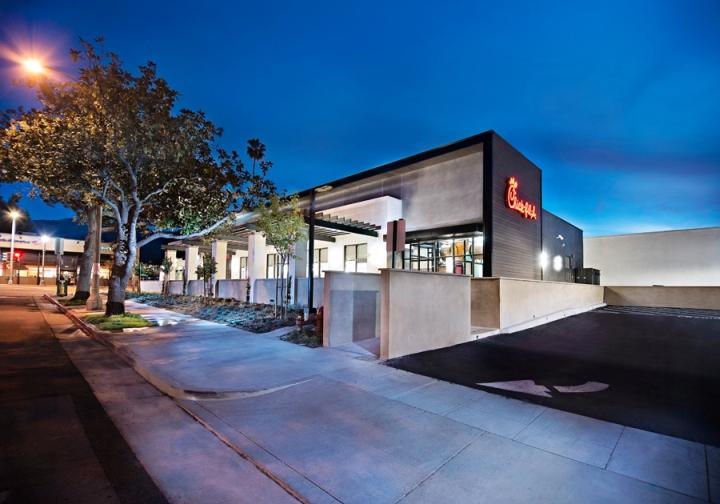 Chick fil a restaurant by crho pasadena california for Decor hotel fil