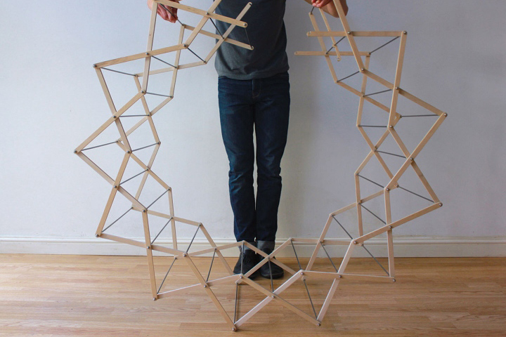 Clothes horse by aaron dunkerton