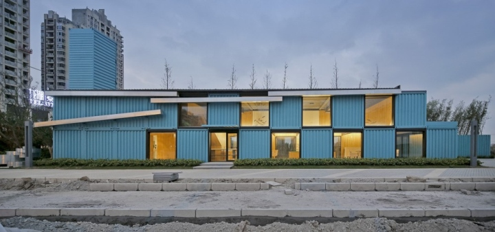 Container Sale Office By Atelier X 220 K Shanghai China