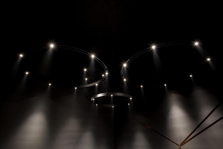 Retail Design Blog Delta Light Stand at Euroluce 2015, Milan - Italy