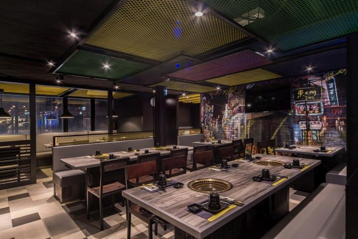 Korean Restaurant Decor : Dong dae mun korean restaurant by rn design studio hong
