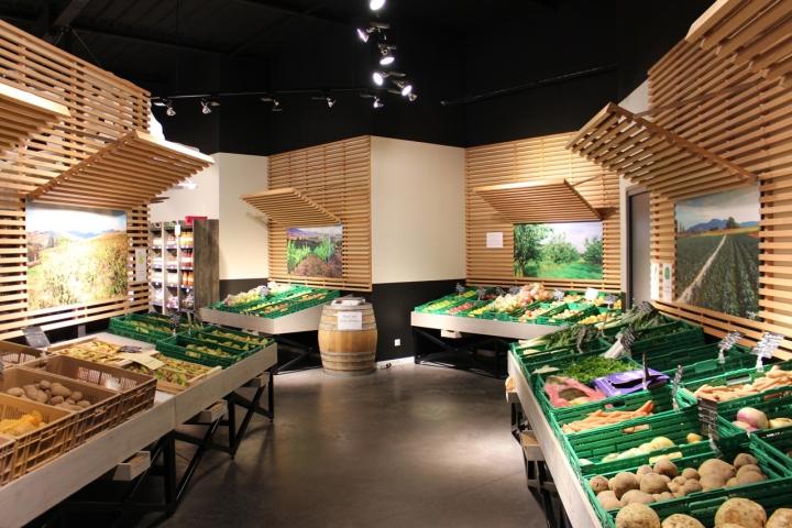 Store design retail design blog for Belleville sur loire piscine