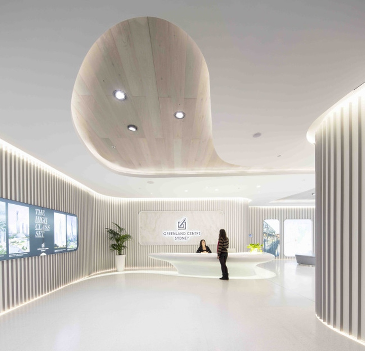 Greenland centre marketing suite by ptw lava sydney for Designhotel definition