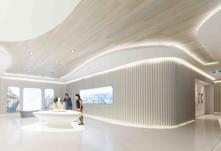 187 Greenland Centre Marketing Suite By Ptw Lava Sydney