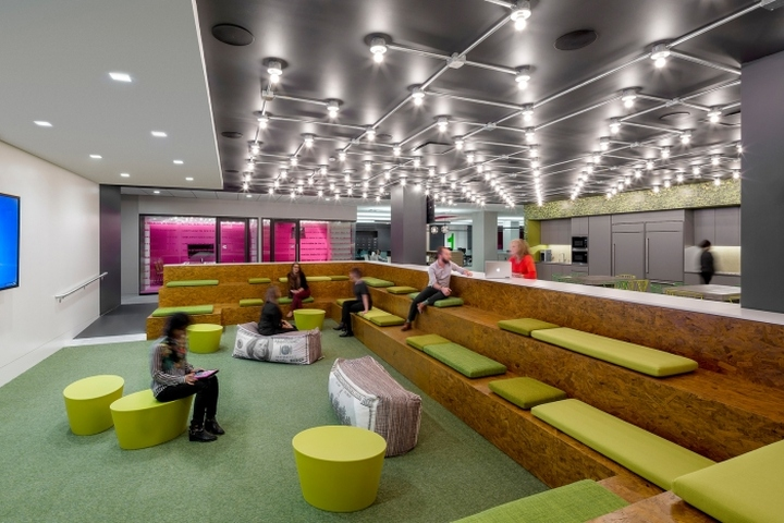 Initiative media offices by ted moudis associates new for Office design new york