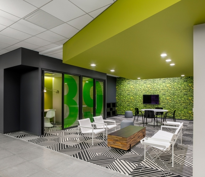 Initiative media offices by ted moudis associates new for Contemporary interior design blog