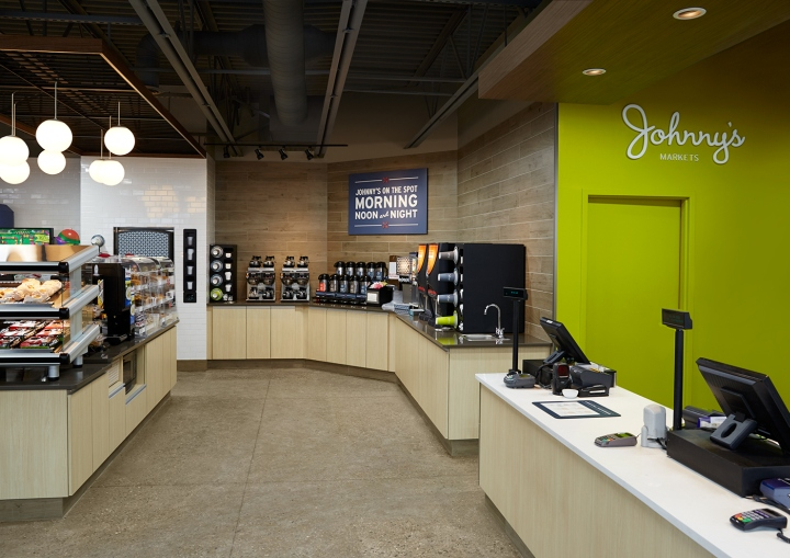 Johnny s markets store design branding by square one for Johnny s fish market