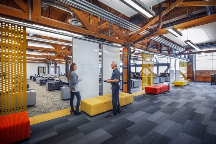 Johnson Controls Offices by Eppstein Uhen Architects, West
