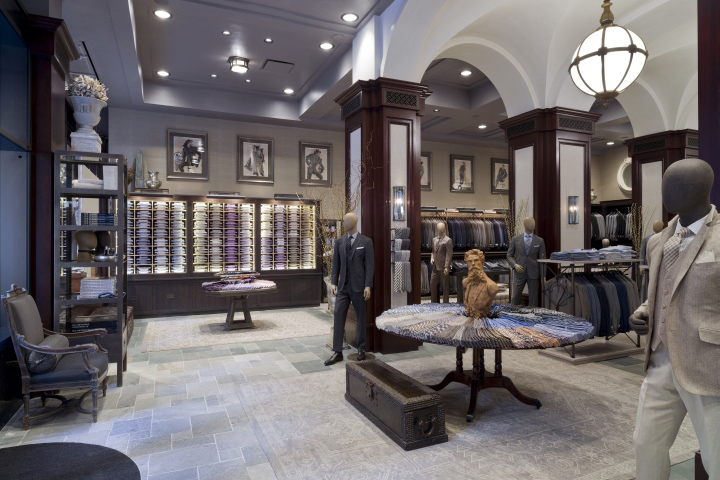 Designer Clothing Stores In New York Iconic menswear designer