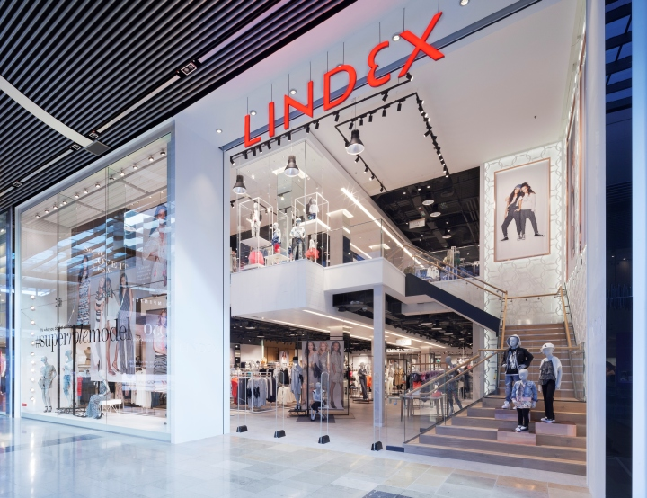 Lindex Store By Checkland Kindleysides London Uk