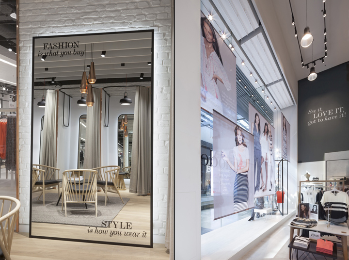 lindex flagship store opening.