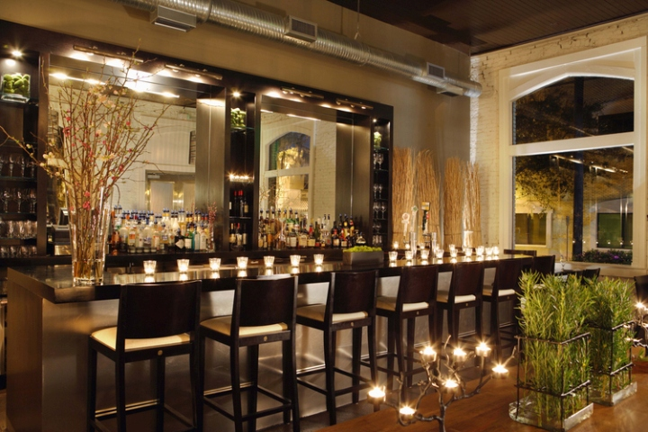 Local 11 ten restaurant by rethink design studio savannah georgia retail design blog - Bar cuisine studio ...