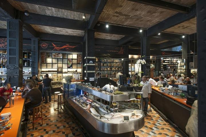 187 Mercado Roma Restaurant By Rojkind Arquitectos Amp Cadena