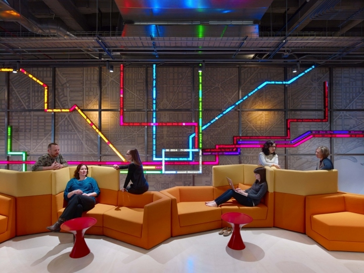 187 Motorola Mobility Offices By Gensler Chicago Illinois