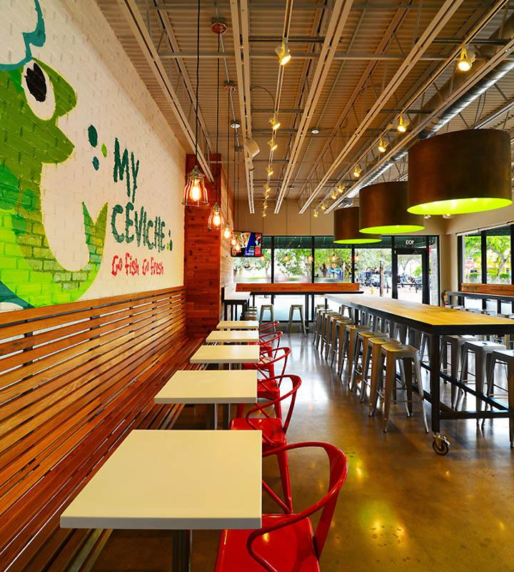 My Ceviche Fast Food By ID amp Design International Miami Florida Retail Blog