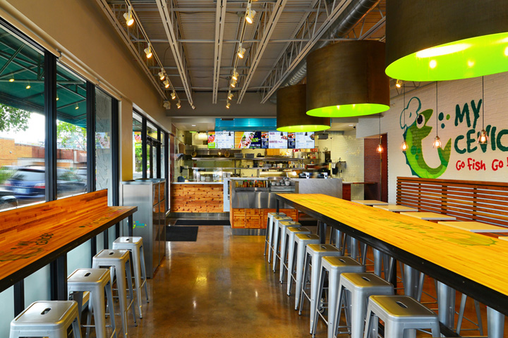my ceviche fast food by id design international miami florida - Fast Food Store Design