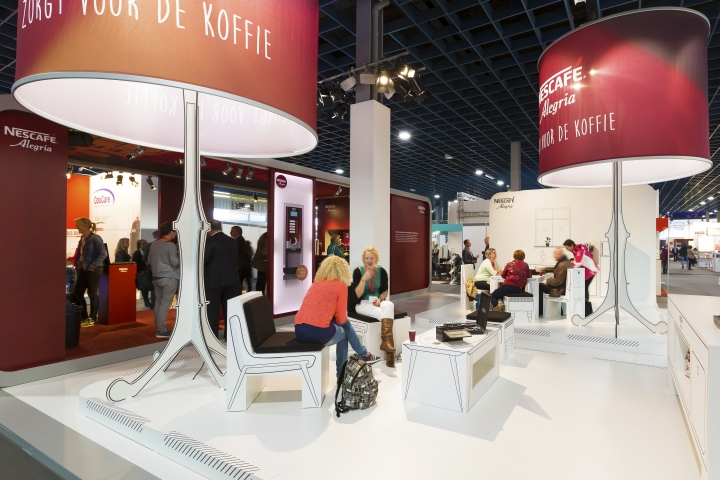 Nestle Exhibition Booth : Nestlé professional stand at zorgtotaal utrecht