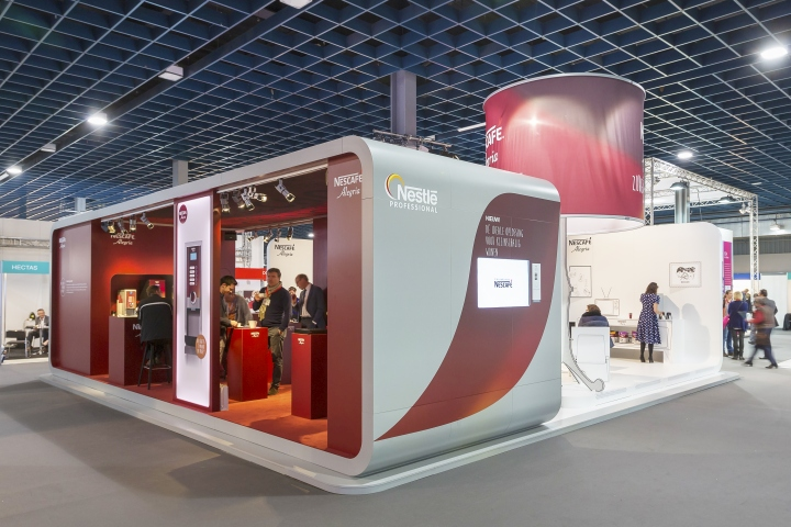 Nestle Exhibition Booth : Zorgtotaal retail design