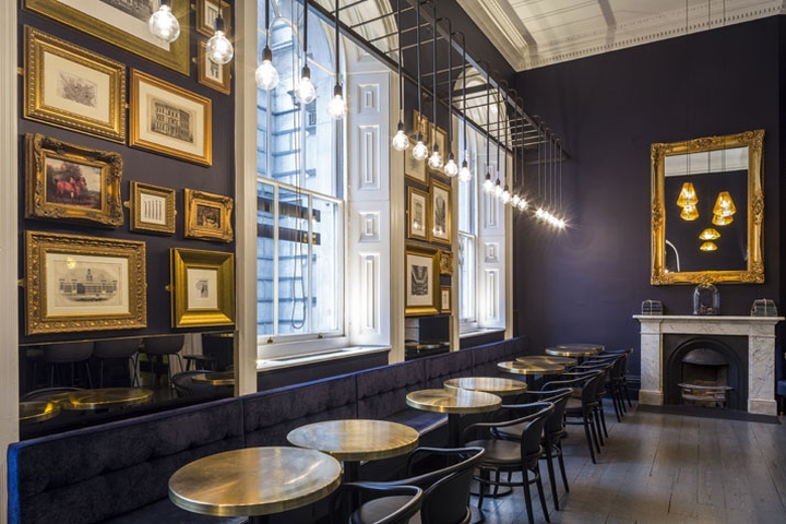 Pennethorne'S Café Bar By Shh Architects, London – Uk » Retail