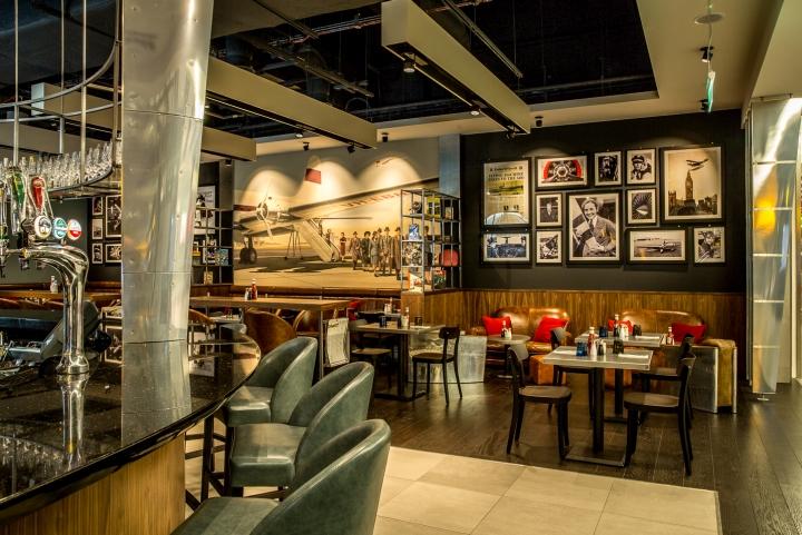 187 Pilots Bar Amp Kitchen By O1creative At Heathrow Terminal