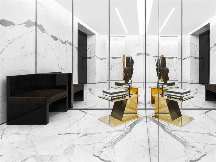 187 Saint Laurent Store By Hedi Slimane Paris France