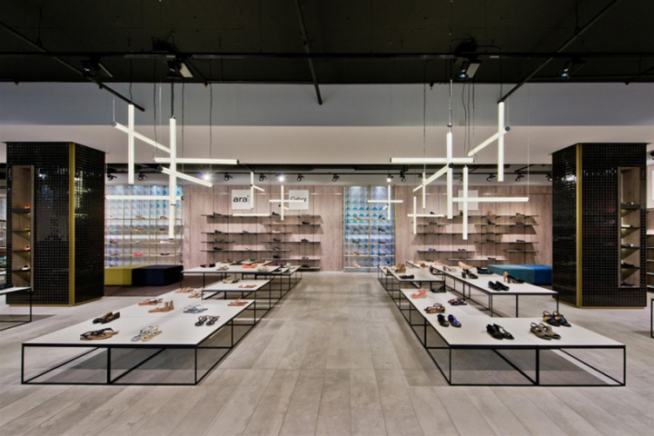 Shoe Gallery Store By Plazma Vilnius Lithuania Retail Design Blog
