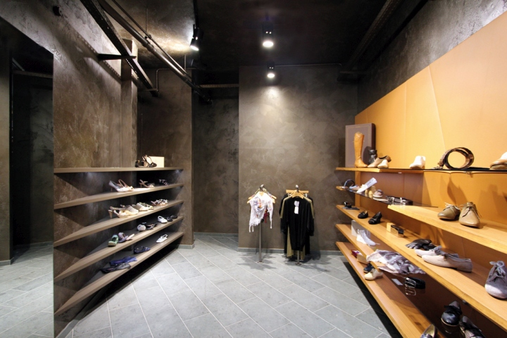 Stratmann shoes store by kitzig interior design for Kitzig interior