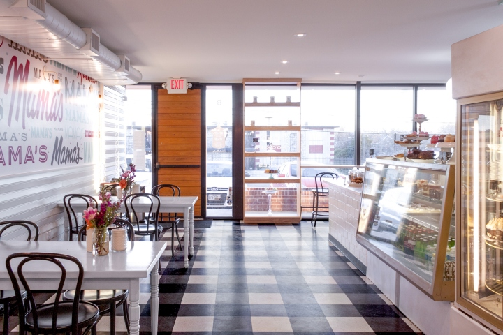 Sugar Mama S Bakeshop By Allison Burke Interior Design