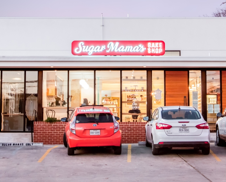 Sugar Mamas Bakeshop By Allison Burke Interior Design Austin Texas