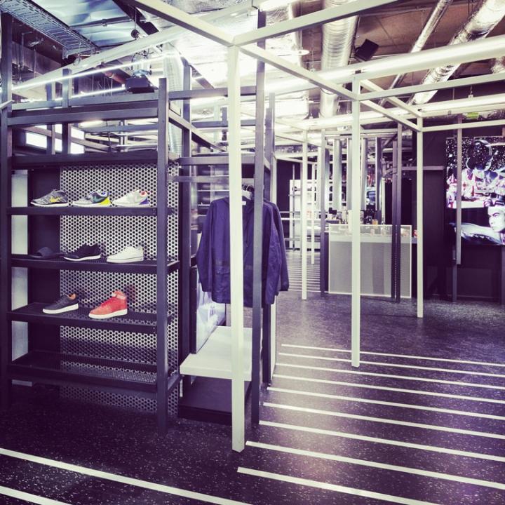 supernova concept store by christian weinecke berlin germany retail design blog. Black Bedroom Furniture Sets. Home Design Ideas