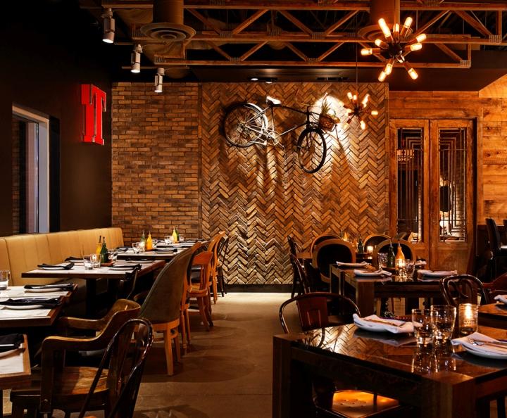 Restaurant Interior Inc : Tavolo restaurant by jump branding design inc