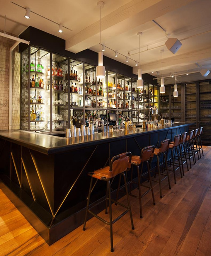 The Cocktail Parlour, Toronto – Canada » Retail Design Blog