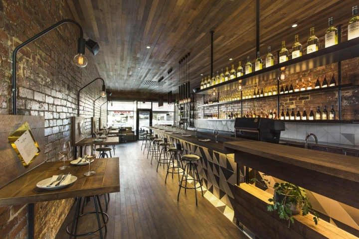 The milton restaurant by biasoldesign studio melbourne australia retail design blog - Deco bar design ...