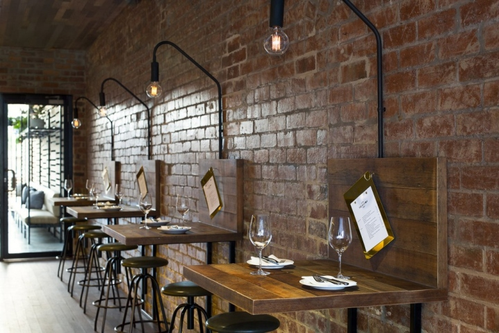 The Milton Restaurant By BiasolDesign Studio Melbourne