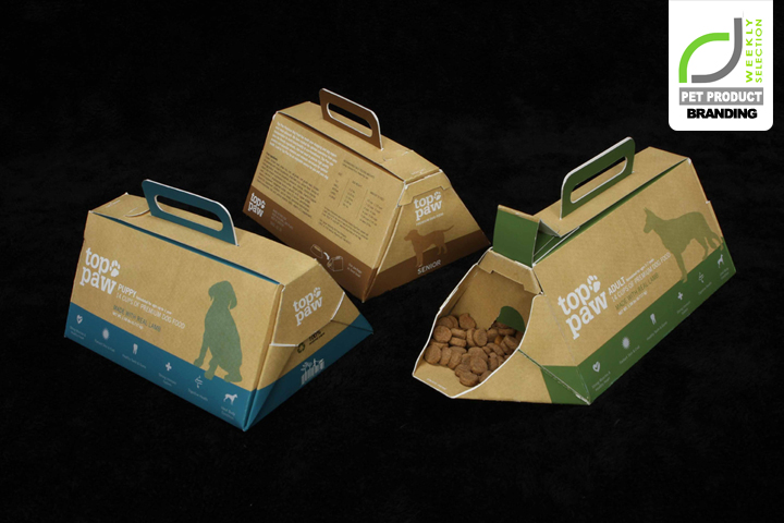 Top Paw re-thinks the identity of PetSmart by introducing a new line of dog food packaging. The Top Paw dog food packaging sports a clever design, making this .