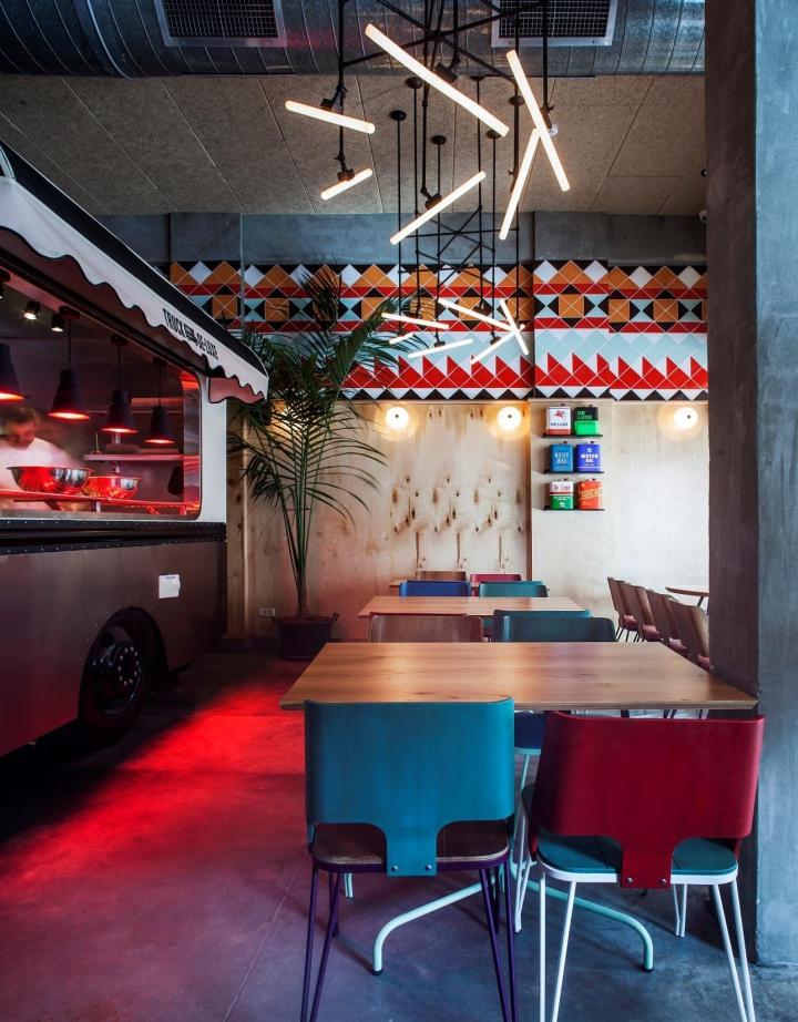 187 Truck De Luxe Restaurant By Opa Studio Tel Aviv Israel