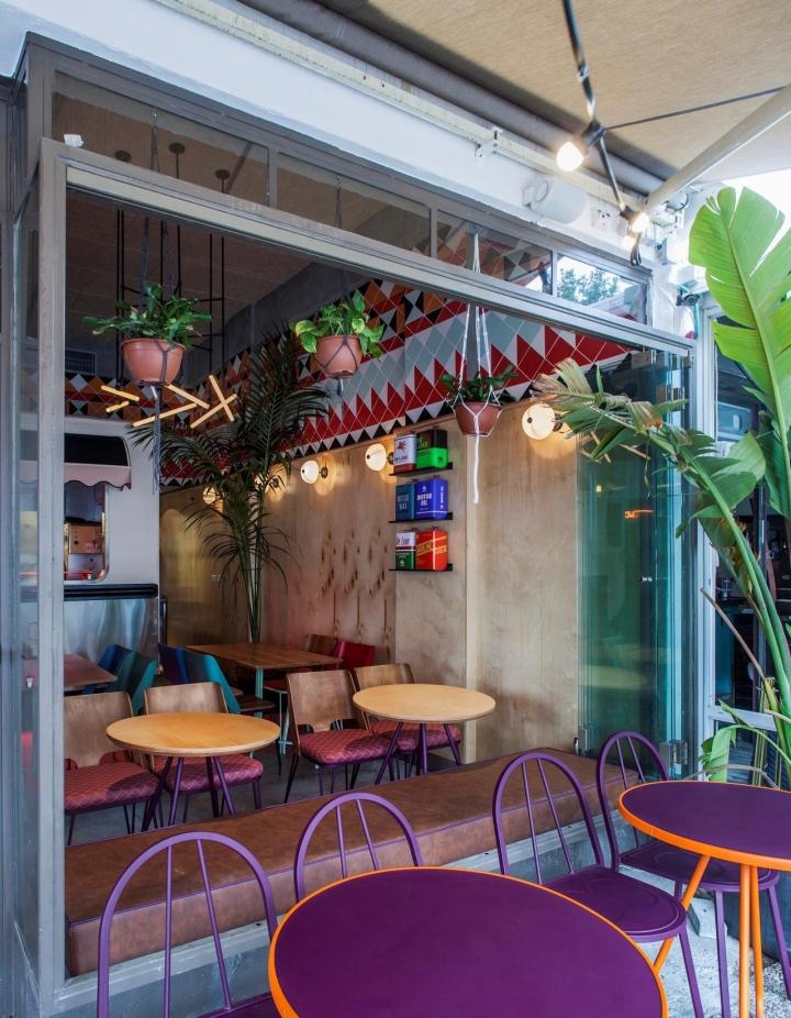 Truck de luxe restaurant by opa studio tel aviv israel for Design hotel tel aviv