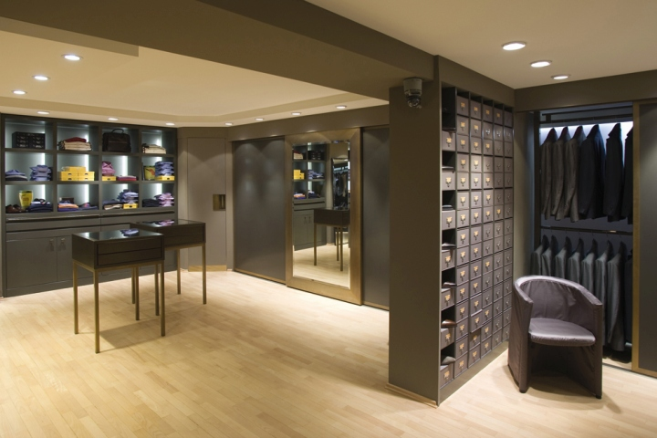 Fashion retail design blog for Kitzig interior