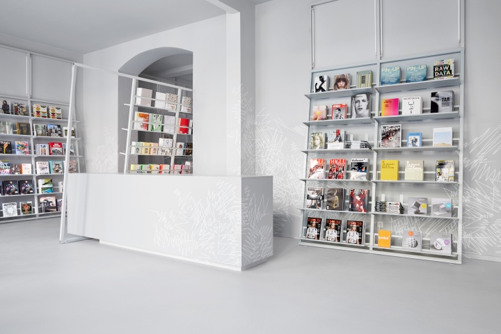 Bed sheets for architects - Bookstore 187 Retail Design Blog