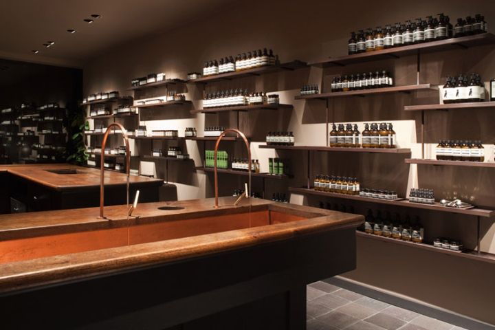 Aesop Store By JamesPlumb, London U2013 UK