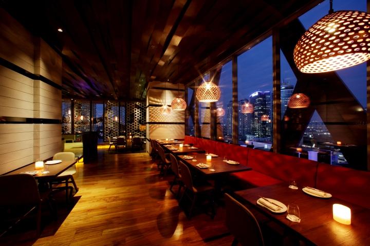 187 Akira Back Restaurant By Metaphor Interior Jakarta