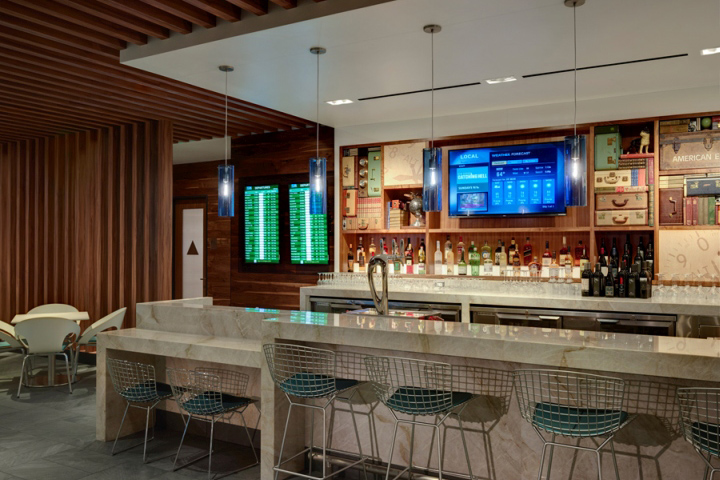 American Express Centurion Lounge By Big Red Rooster At San