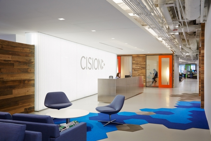Cision Offices By Eastlake Studio Chicago Illinois Retail Design Blog
