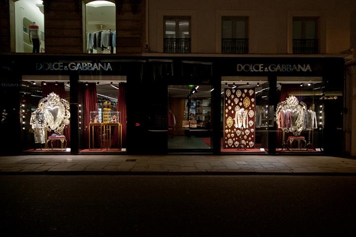 187 Dolce Amp Gabbana Windows 2015 Spring Paris France
